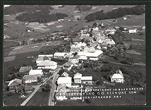 Ansichtskarte Kollerschlag, Fliegeraufnahme des Dorfes