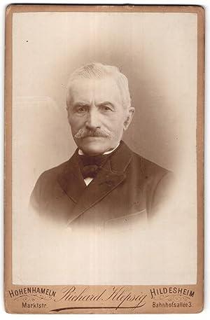 Fotografie Richard Klepsig, Hohenhameln, Hildesheim, Portrait älterer