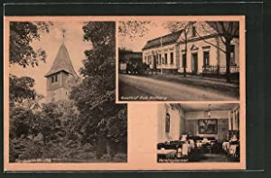Ansichtskarte Kienbaum / Krs. Niederbarnim, Gasthof Robert