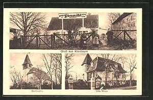 Ansichtskarte Kienbaum / Krs. Niederbarnim, Gasthof und