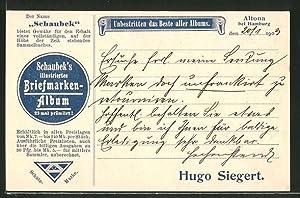 Ansichtskarte Schaubek's illustriertes Briefmarken-Album