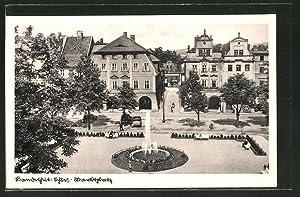 Ansichtskarte Landeshut, Blick auf den Marktplatz