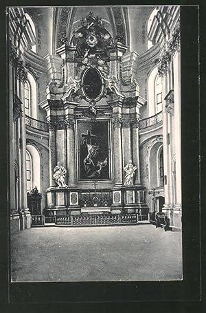 Ansichtskarte Weingarten, Kreuzabnahme in der Wallfahrtskirche z.