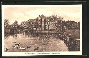 Ansichtskarte Mehrerau, Sanatorium aus Nord-West