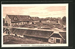 Ansichtskarte Mehrerau, Ökonomiegebäude aus Ost
