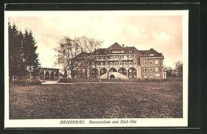 Ansichtskarte Mehrerau, Sanatorium aus Süd-Ost