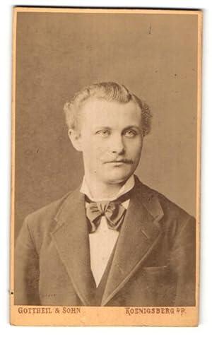 Fotografie Gottheil, Sohn, Koenigsberg i. P., Portrait
