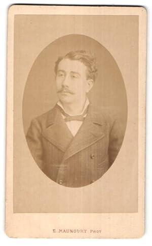 Photo E. Manoury, Angers, Portrait de Herr