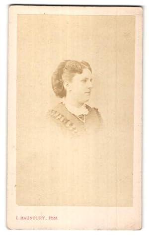 Photo E. Manoury, Paris, Portrait de Dame