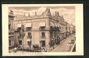 Postcard Mexico City, Av. Francisco I. Madero,