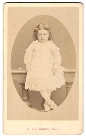 Photo E. Manoury, Angers, Portrait de kleines
