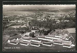Ansichtskarte Wickrath / Niers, Ortspanorama aus der