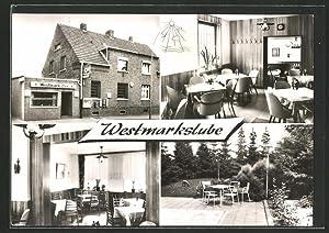Ansichtskarte Willich-Schiefbahn, Gasthof Westmarkstube, Albert-Oetker-Strasse 8