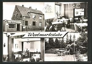 Ansichtskarte Willich-Schiefbahn, Gasthaus Westmarkstube, Albert-Oetker-Strasse 8
