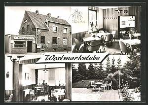Ansichtskarte Willich-Schiefbahn, Gasthof Westmarkstube in der Albert-Oetker-Strasse