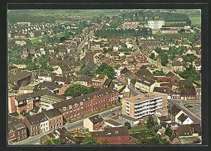 Ansichtskarte Willich-Schiefbahn, Gesamtansicht aus der Vogelschau