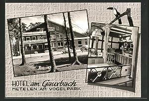 Ansichtskarte Metelen, Hotel am Gauxbach