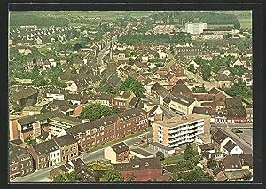 Ansichtskarte Willich-Schiefbahn, Totalansicht aus der Vogelschau