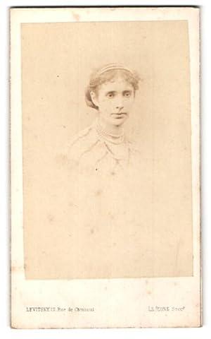 Photo Levitsky, Paris, Portrait de junge Frau