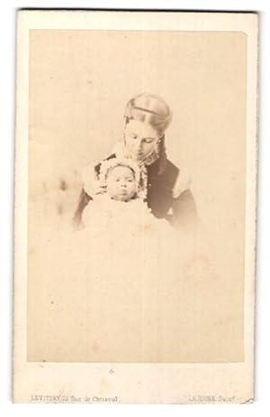Photo Levitsky, Paris, Portrait de junge Dame