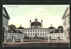Ansichtskarte Fredensborg, Ansicht des Schlosses, Slot