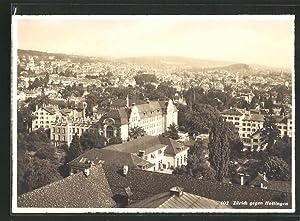 Ansichtskarte Zürich, Totalansicht gegen Hottingen