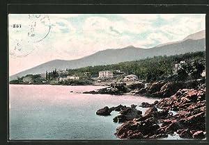 Ansichtskarte Icici, In der Bucht