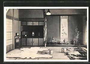 "Künstler-Ansichtskarte A ""Tokonoma"", the Decorated Alcove of"