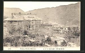 Ansichtskarte Hakone, Totalansicht Fujiya Hotel