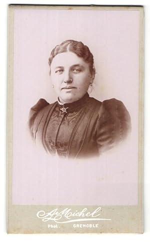Photo A. Michel, Grenoble, Portrait de Frau