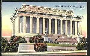 Postcard Washington D.C., Lincoln Memorial