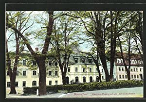 Ansichtskarte Gnadenfrei, Mädchen-Pensionat, Schwesternhaus