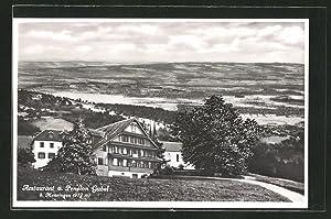 Ansichtskarte Menzingen, Restaurant, Pension Gubel aus der