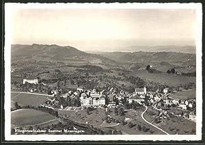 Ansichtskarte Menzingen, Institut, Fliegeraufnahme