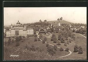Ansichtskarte Menzingen, Ortsansicht
