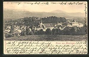 Ansichtskarte Menzingen, Totalansicht