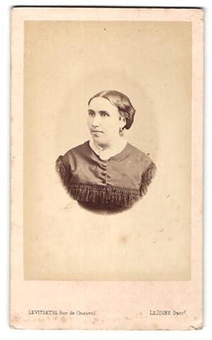Photo Levitsky, Paris, Portrait de Frau avec
