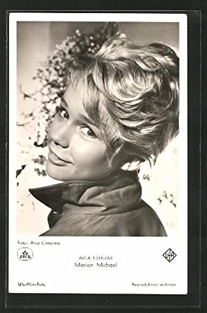 Ansichtskarte Schauspielerin Marion Michael spielte im Film
