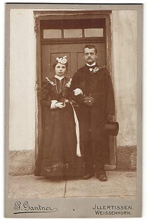 Fotografie P. Gantner, Illertissen, Weissenhorn, Portrait Hochzeitspaar