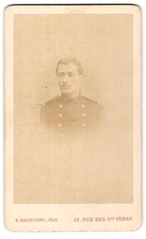 Photo E. Manoury, Paris, Portrait de Soldat