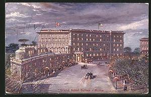 Cartolina Roma, Grand Hotel Suisse