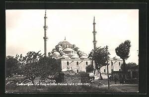 Ansichtskarte Constantinople, La Mosquee Sultan Mehmed Fatih