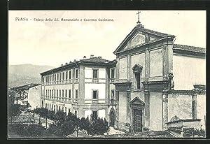Cartolina Pistoia, Chiesa della SS. Annunziata e