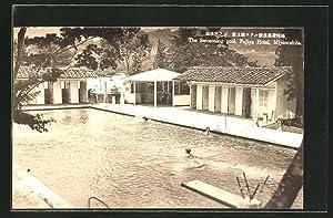 Ansichtskarte Hakone, Fujiya Hotel, the Swimming pool,