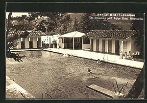 Ansichtskarte Miyanoshita, The Fujiya Hotel, Swimming Pool