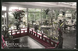 Ansichtskarte Miyanoshita, Sun parlor, Fujiya Hotel