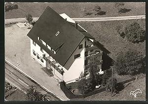 Ansichtskarte Simonswald, Hotel-Haus Kaltenbach aus der Vogelschau