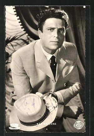 Ansichtskarte Schauspieler Raf Vallone in dem Film