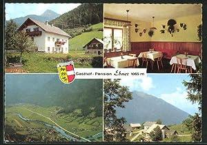 "Ansichtskarte Penk / Reisseck, Gasthof Ebner ""Almrausch"","