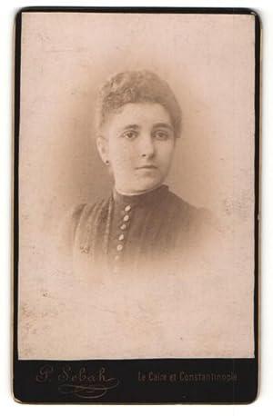 Fotografie P. Sebah, Constantinople, Portrait hübsches junges